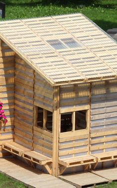 1 | A House For Refugees, Made From 100 Shipping Pallets | Co.Design | business + design