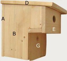 ideal für Kindergeburtstag Vogelhaus Feste Bausatz Nistkasten Meisenkasten