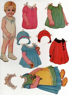 Paper doll Shirley Jean