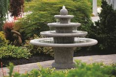 Massarelli Gozo Sphere Fountain   This fountain is characteristic of the Massarelli family's understanding of design. It has a modern four tier and sphere design which will give elegance and style to any garden whilst creating a decorative focal point. The quality of this prod