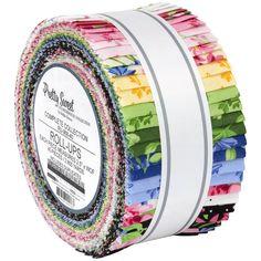 Robert Kaufman Fabrics Pretty Sweet Roll Up Fabric Strips Robert Kaufman, Fabric Strips, Rolls, Fabrics, Sweet, Pretty, Tejidos, Candy, Bread Rolls