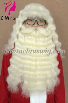Tim allen as santa clause in the santa clause 1 2 he will zm hair machine made yak hair santa claus wig and beard lace mustache lace spiritdancerdesigns Choice Image