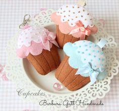 Cupcake felt idea