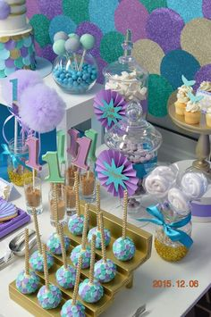 Little Wish Parties | Under The Sea First Birthday | https://littlewishparties.com