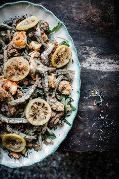 Seafood platter | Local Milk | local milk retreats | venice, italy pt. 1