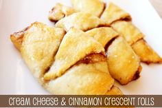 Cream Cheese and Cinnamon Crescent Rolls