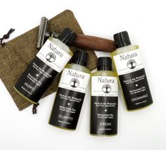 Shaving oil for Men and Women - Natura - Pre-shave Oil for all Skin Types, All Natural Shaving Oil Oils For Men, Pre Shave, Shaving Oil, Handmade Gift Tags, Flower Oil, Melaleuca, Made In France, Travel Size Products, Natural Skin Care