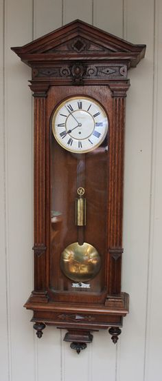 Wall Hanging Grandfather Clock antique continental large hanging wall clock | banjo clocks, wall