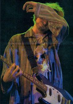 Kurt Cobain, Hollywood Rock,São Paulo, Brazil, January 23, 1993.