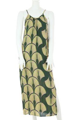Leah Maxi Dress in 'Fern' $72 https://www.manuhealii.com/ProductDetails.asp?ProductCode=6736