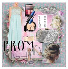 """""""Prom Night!"""" by vickiitz ❤ liked on Polyvore featuring Decode 1.8, Badgley Mischka, Love Moschino, Revlon and Bling Jewelry"""