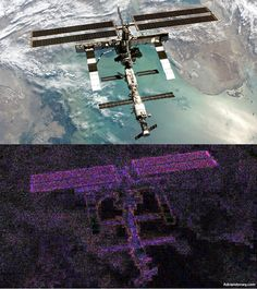 FAKE Photo shopped image of the ISS for your entertainment.