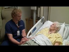 This Sick Old Woman Broke Down In Tears When Her Male Nurse Did THIS… Wow!  We need more good nurse like him. :-)