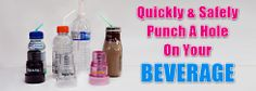 Easy to use on your favorite beverage. www.bopatop.com