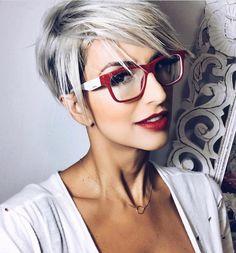 """6,846 Likes, 38 Comments - @shorthair_love on Instagram: """"@alineh_a #shorthairlove #hairstyle #haircut #hair #shorthair #undercut #pixie #pixiecut"""""""