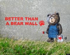 JPS street art is unlike your run-of-the mill graffiti, with punny messages and pop culture references, these images are sure to give you a good laugh. Banksy Graffiti, Graffiti Wall Art, Street Art Graffiti, Art Memes, Art Puns, Urban Street Art, Urban Art, Sidewalk Art, Outdoor Art