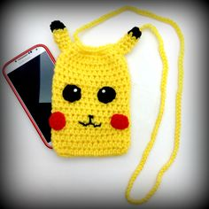 Pokemon Pikachu Cell Phone Bag/ Purse/Travel Bag