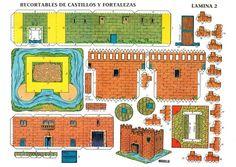 TODORECORTABLES SUEÑOS DE PAPEL: CASTILLOS RECORTABLES