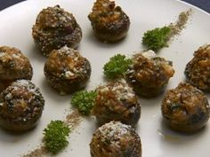 Stuffed Mushrooms from Robert Ervine