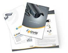 cctv camera brochure design