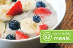 52 Quick and Healthy Meals - Greatist is a really awesome resource!