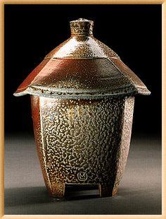 Gotta love salt glaze! mary law pottery.