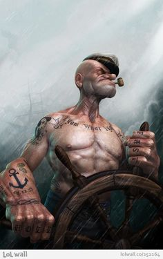 Real Popeye by Lee Romao