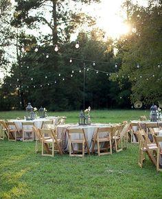 Идеи для свадьбы на свежем воздухе