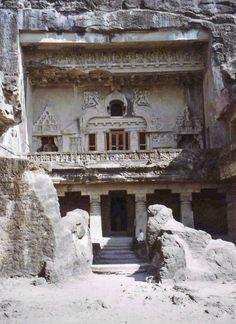 Ellora Cave Temple ~ Maharaschtra, India