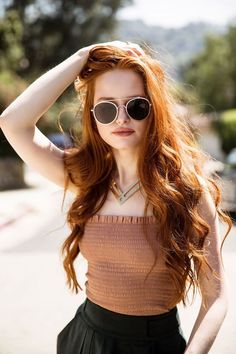 Madelaine Petsch photographed by Shanna Fisher