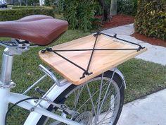 Cargo Cradle 14.5 Bike / Bicycle Wood / by BikeCultureRising, $39.95
