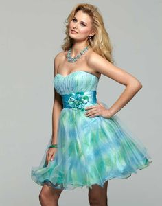Clarisse 2013 Prom Gown or 2012 Homecoming Baby Doll Strapless Dress 2018 | Promgirl.net
