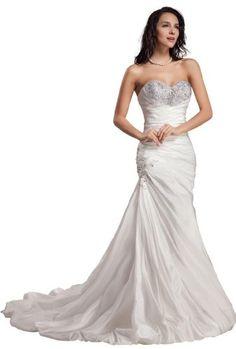 GEORGE BRIDE Sweetheart Neckline Taffeta Wedding Dress With Beaded Bodice Size 2 Ivory GEORGE BRIDE,http://www.amazon.com/dp/B0097IYN9K/ref=cm_sw_r_pi_dp_FKQ4sb1WDPB8S6BN