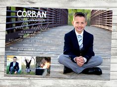 Baptism Invitation LDS baptism invite LDS by FramedPhotography