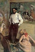 "New artwork for sale! - "" Degas Portrait Of The Painter Henri Michel Levy by Edgar Degas "" - http://ift.tt/2pxPHW4"