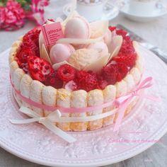 Cute Desserts, Sweets Recipes, Vegan Desserts, Delicious Desserts, Cake Recipes, Mini Cakes, Cupcake Cakes, Charlotte Cake, Food Truck Business