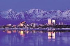 Anchorage, Alaska.  Love, love, love this place.  Great place to visit, better place to live.
