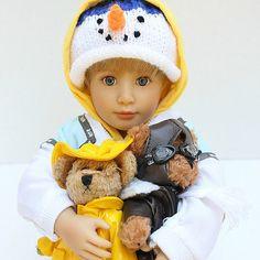 #KidznCats boy #doll Bobo and his #teddies | www.mydollbestfriend.co.uk