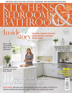 Photo Image Kitchens Bedrooms u Bathrooms magazine October KBB covers Pinterest Magazines Bedrooms and Kitchens
