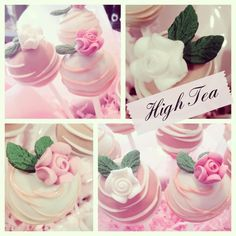 Handmade HIGH TEA Cake Pops x 12 - Great Party Favours! Great Gift!