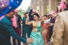 Mumbai weddings | Karan & Aastha wedding story | WedMeGood