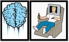 brain-freeze, television