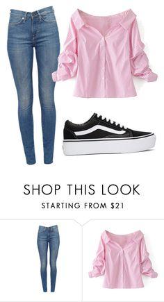 """day"" by juliadb on Polyvore featuring WithChic and Vans"