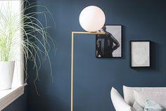 Bilderesultat for 4477 deco blue Blue Walls, Floor Lounging, Blue Floor, Deco, Best Paint Colors, Wall Colors, St Pauls Blue, Deco Blue, Apartment Inspiration