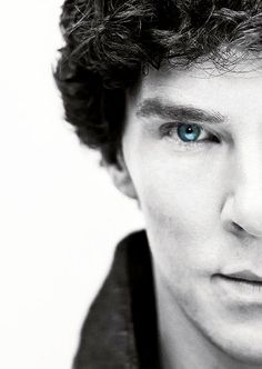 Sherlock. http://www.pinterest.com/aggiedem/sherlock-addict/ his eyes are so amazing in this show and if you absolutely refuse to watch it, then at least go look him up and just stare at how blue his eyes are...do it...