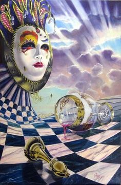 Famous Surrealist Artists | ... of art is called dali esque by a russian artist named vladimir kush