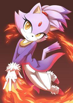 Blaze the Cat - Zerochan Anime Image Board