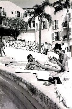 The golden era of the Riviera during the Fifties and Sixties - style inspiration