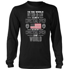 Correctional Officer Son-in-law (frontside design)