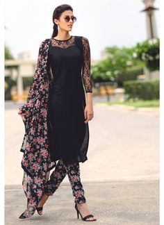 Designer Pajami Suit Online www.maharanidesigner.com Fabric. Fine Cotton Price Rs.4500 For any more information contact on WhatsApp or call 8699101094